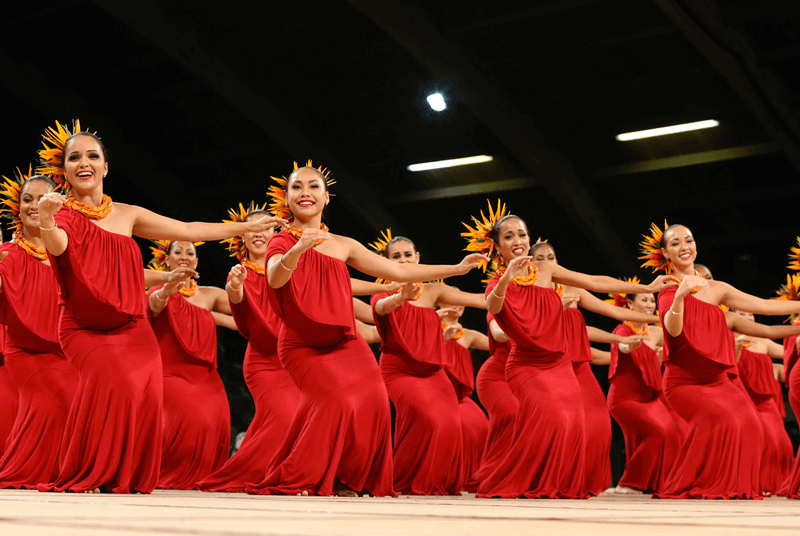 Hawaiian Dance Performance