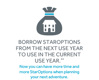 Borrow Staroptions from the next use year to use in the current use year.