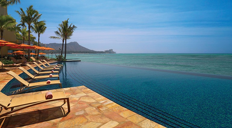 Best Hotel Pools: Sheraton Waikiki