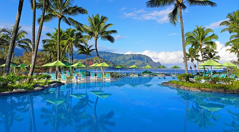 Best Hotel Pools: St. Regis Princeville