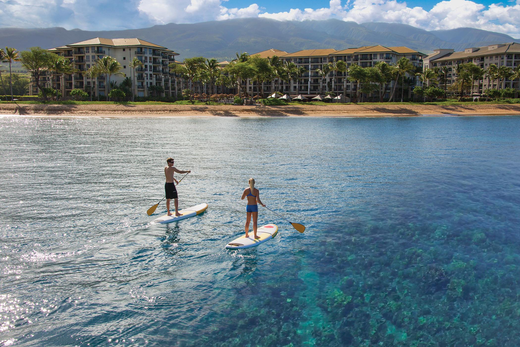 Kā Anapali Beach Paddle Boarding