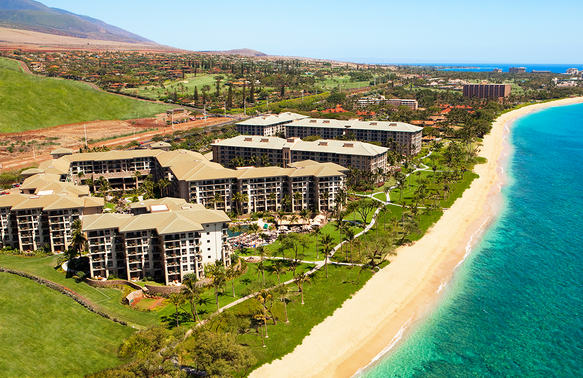 Sheraton Vistana Resort Floor Plans The Westin Kā Anapali Ocean Resort Villas North Overview