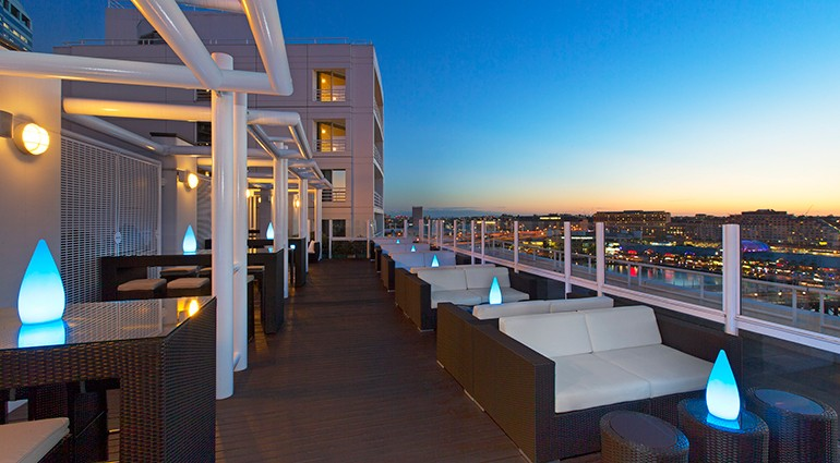 10 stylish rooftop bars for Spa vacations near nyc