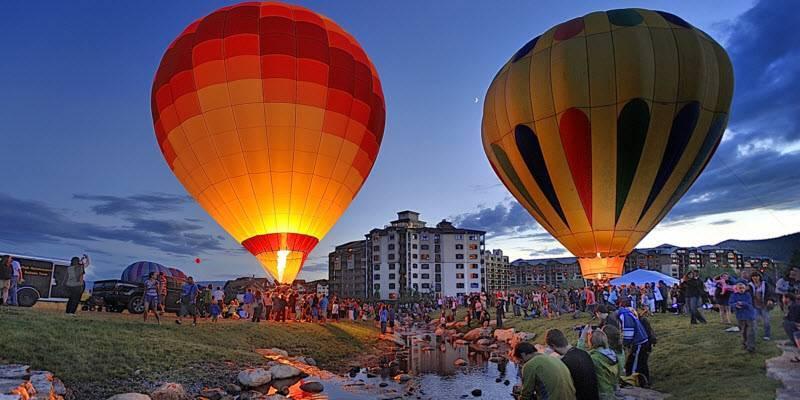 Hot Air Balloon Rodeo Sheraton Steamboat Resort Villas