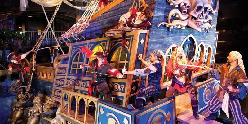 Pirates Voyage Dinner Sheraton