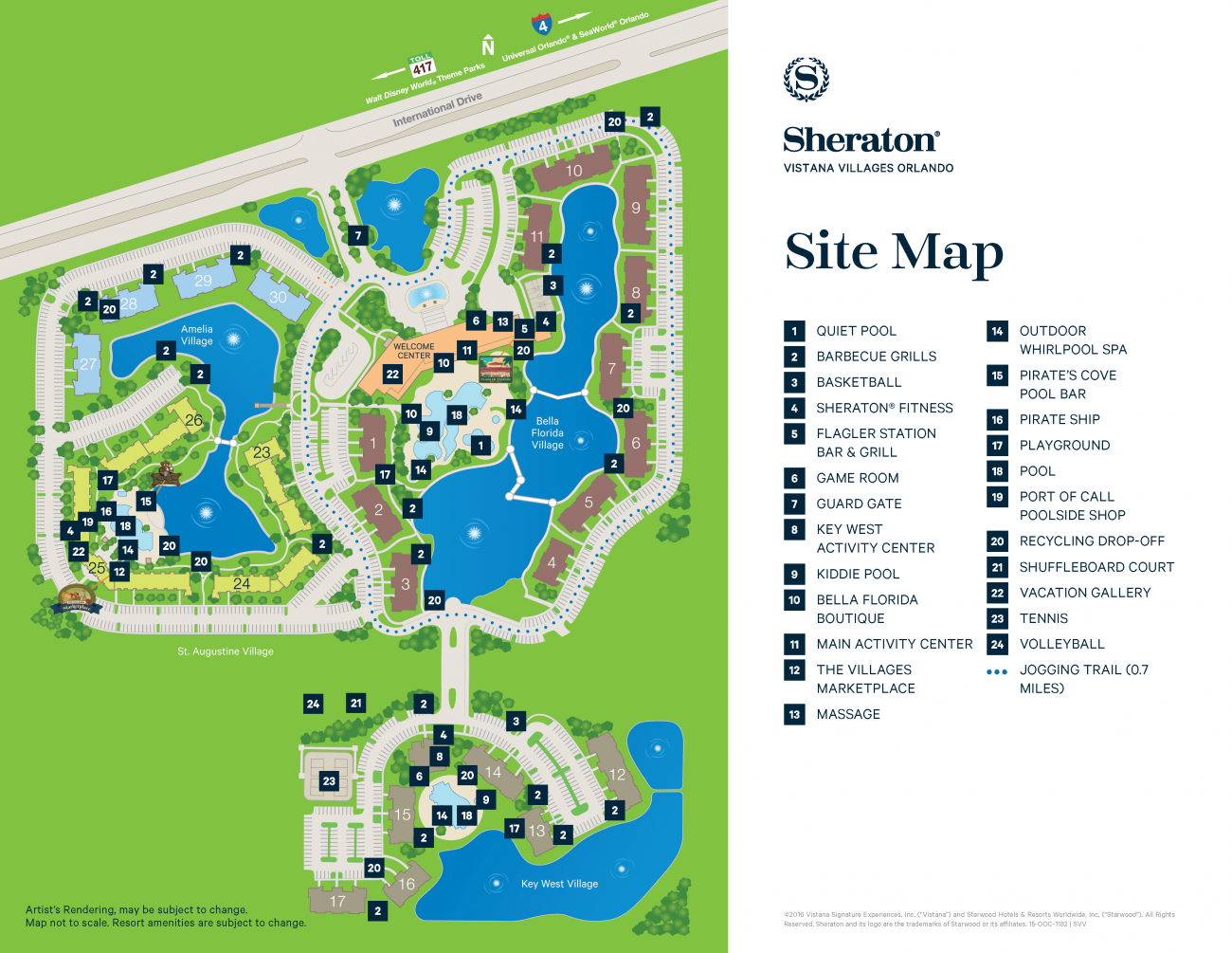 Sheraton Vistana Resort Map Sheraton Vistana Villages best building | The DIS Disney