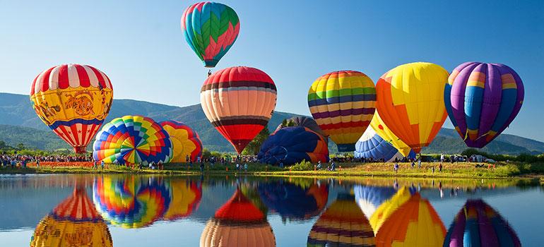 Steamboat Springs Hot Air Balloon Rodeo Vistana