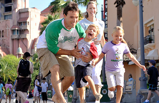 A family at Disney's Hollywood Studios