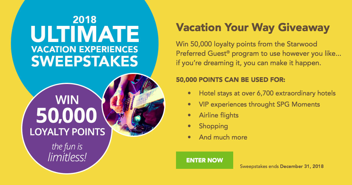 Ohio travel sweepstakes 2018