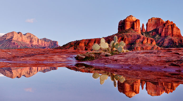 Scenic views in Sedona, Arizona